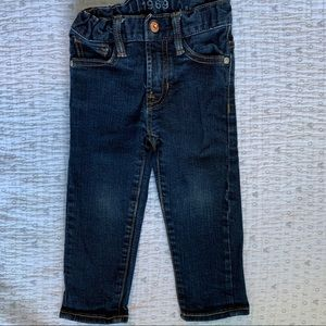 Dark wash toddler jeans from Baby Gap
